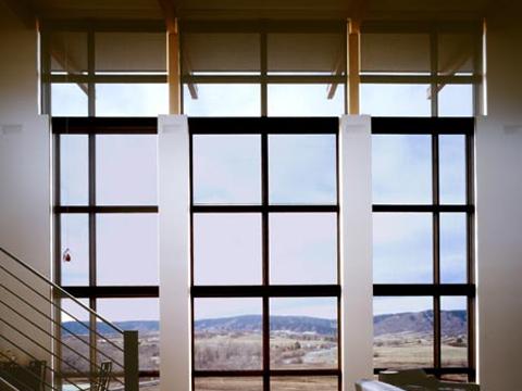 Solar Shades: Flour Mill Lofts, Denver, CO