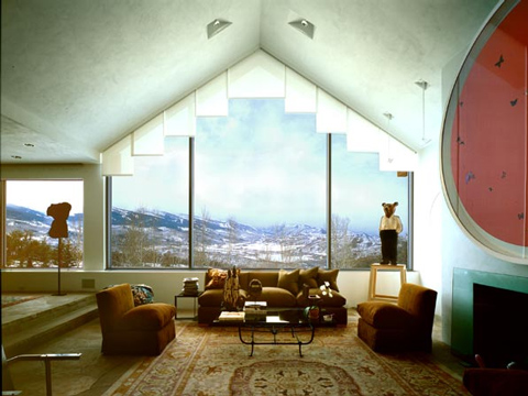 Motorized Shades: Starwood Aspen, CO