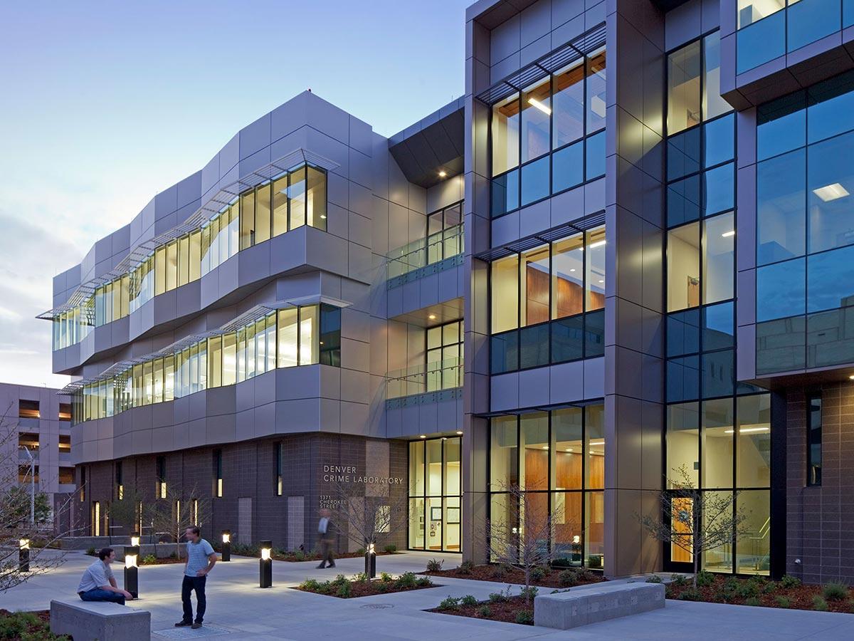 Commercial Custom Window Covers Colorado Denver Crime Lab
