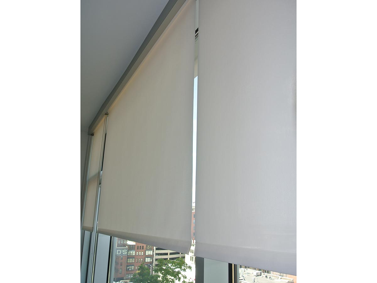 Commercial Custom Window Shades Colorado Sugar Cube