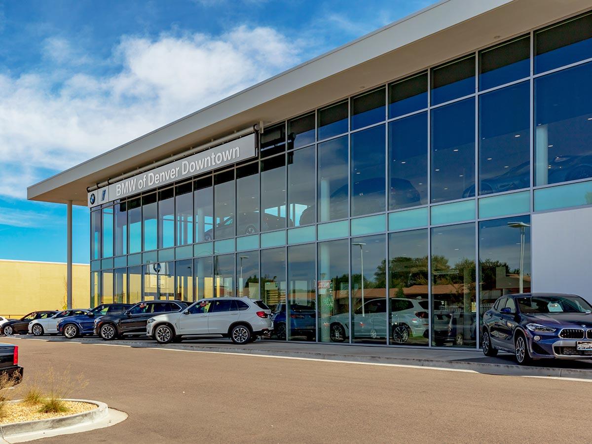 Custom Window Textiles for Car Dealership