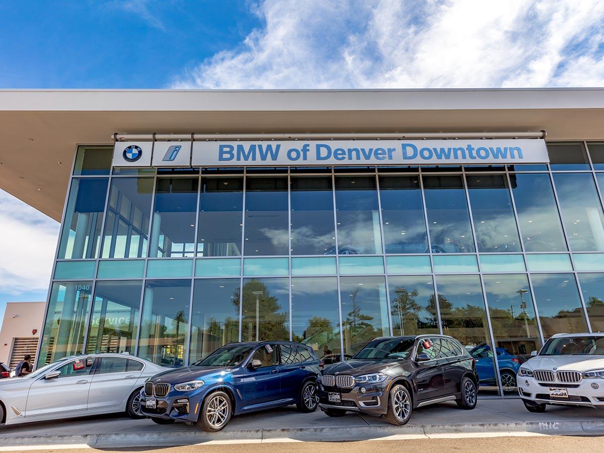 Custom Window Treatments Denver Car Dealership