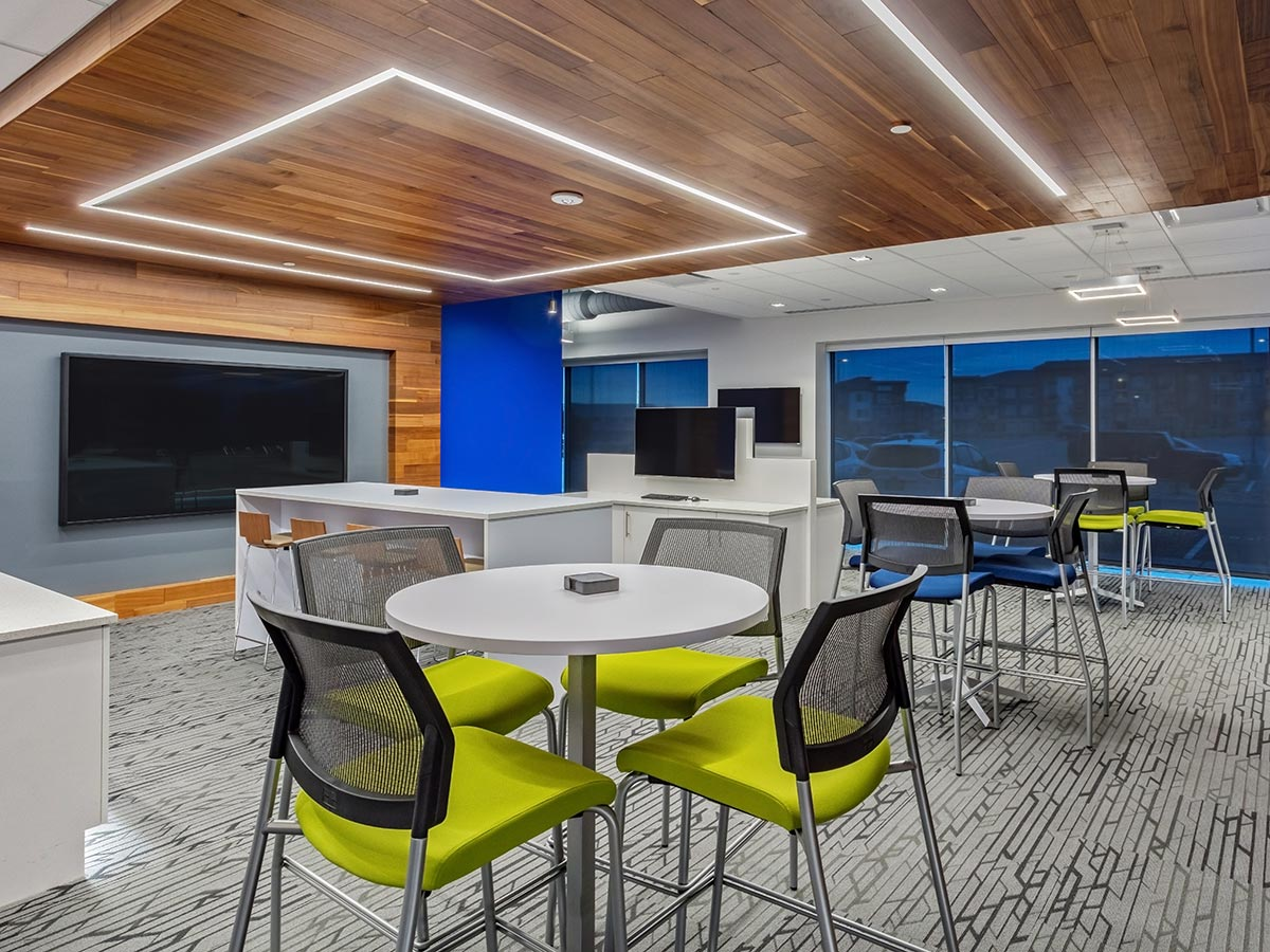 Commercial Custom Window Treatments Colorado Comcast Inova