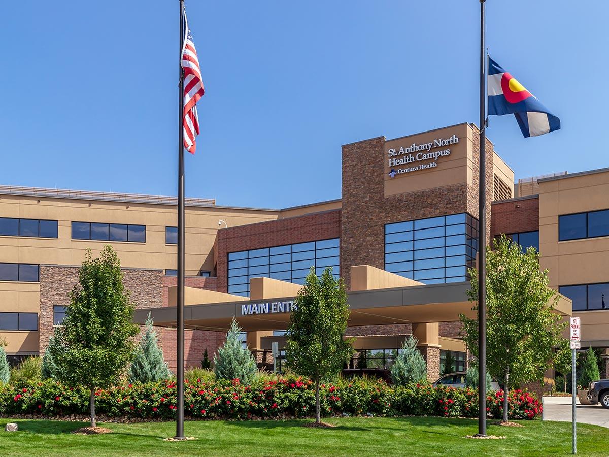 Custom Window Coverings St. Anthony's Hospital