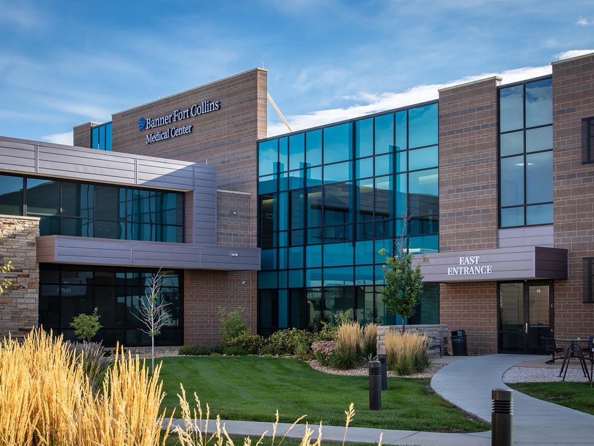 Custom Window Treatments Banner Health Medical Buildling