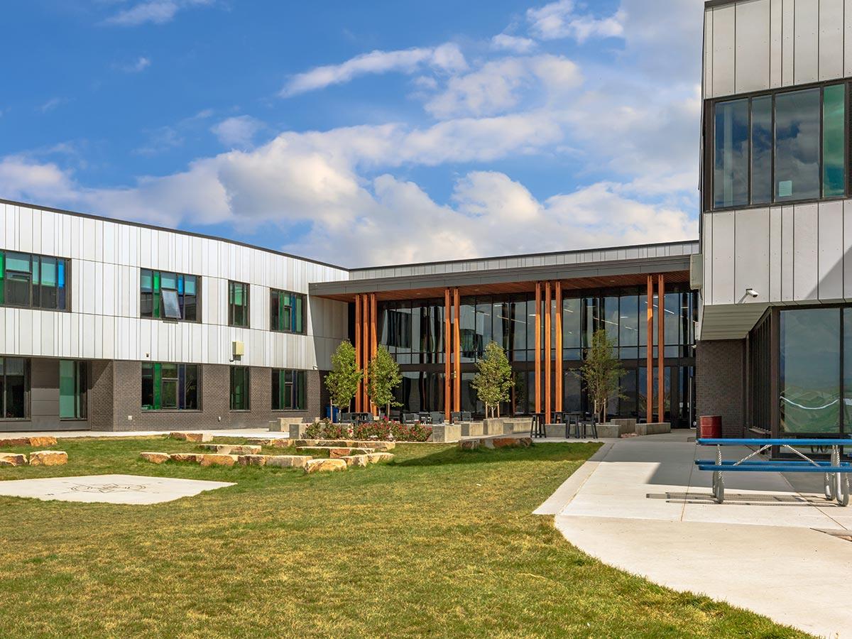 Custom Window Coverings for School Buildings Meadowlark